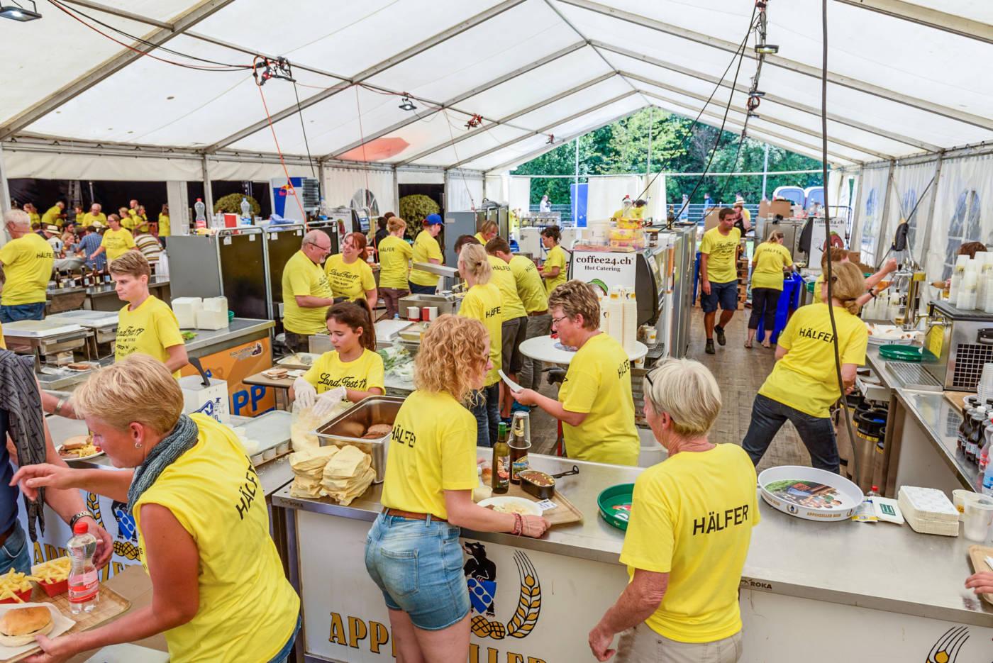 Food und Non-Food auf dem Festareal, Eidgenössisches Schwing- und Älplerfest Pratteln im Baselbiet | ESAF 2022