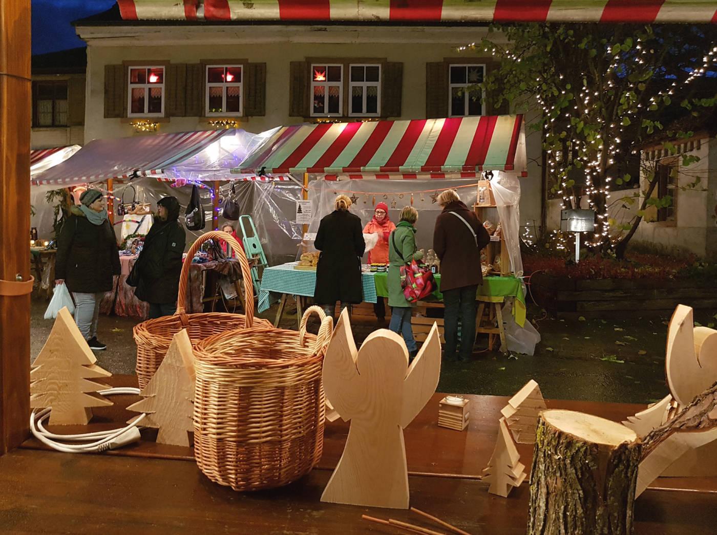 Willkommen am Prattler Weihnachtsmarkt, Eidgenössisches Schwing- und Älplerfest Pratteln im Baselbiet | ESAF 2022
