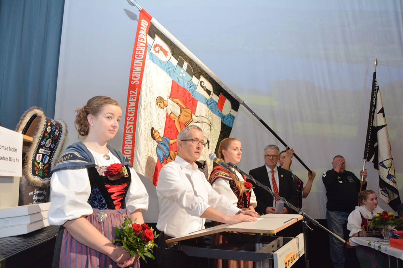 Das «Ja» der Abgeordneten-Versammlung, Eidgenössisches Schwing- und Älplerfest Pratteln im Baselbiet | ESAF 2022