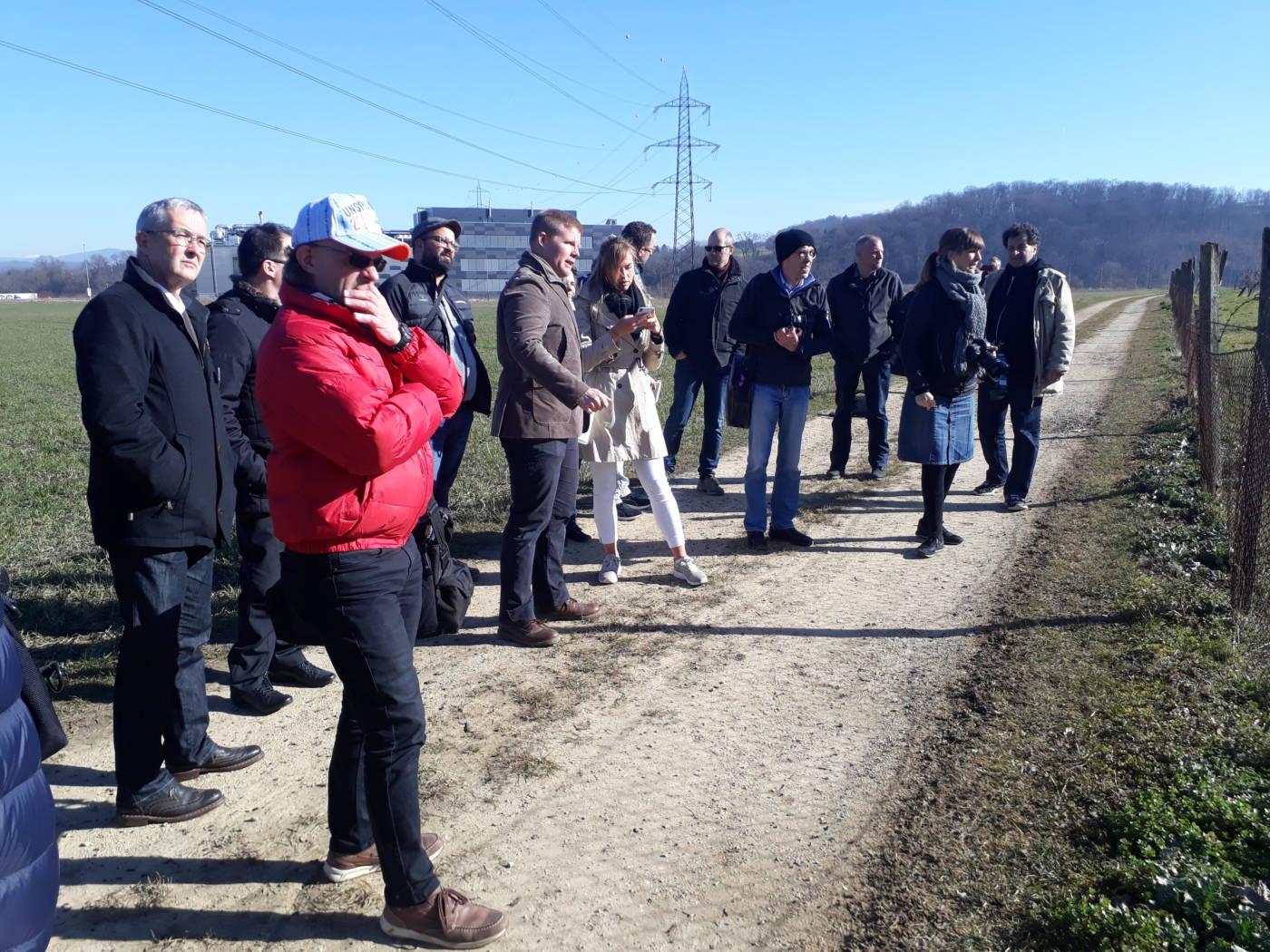 Medienkonferenz mit Arealbegehung, Eidgenössisches Schwing- und Älplerfest Pratteln im Baselbiet | ESAF 2022