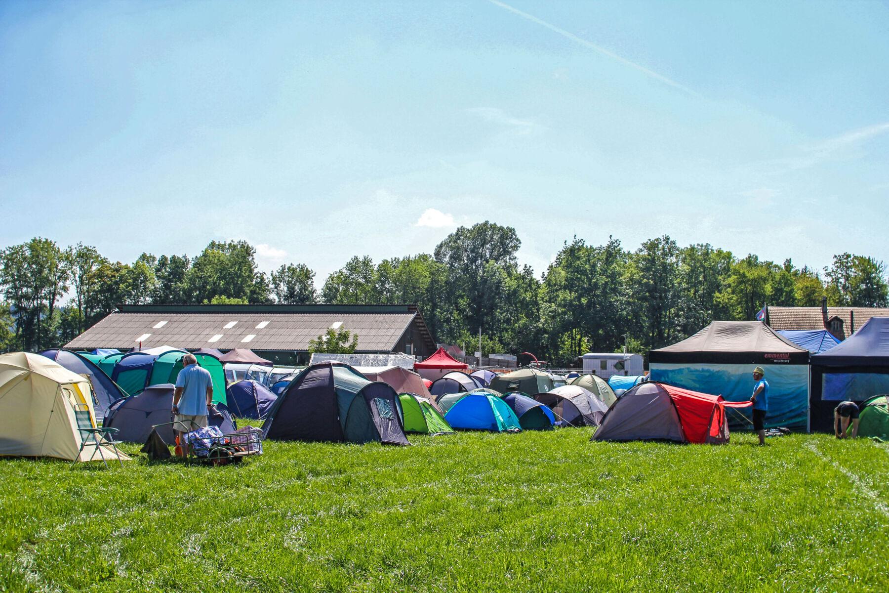 Übernachtung bereit zur Buchung, Eidgenössisches Schwing- und Älplerfest Pratteln im Baselbiet | ESAF 2022