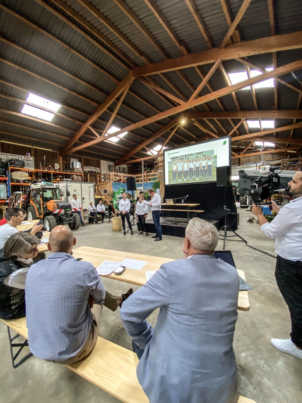 2 Jahre vor dem ESAF Pratteln im Baselbiet    | Eidgenössisches Schwing- und Älplerfest Pratteln im Baselbiet | ESAF 2022