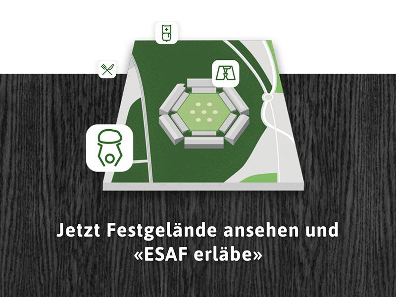 «ESAF erläbe» – neugierig aufs Festgelände? – Impressionen zum Projekt