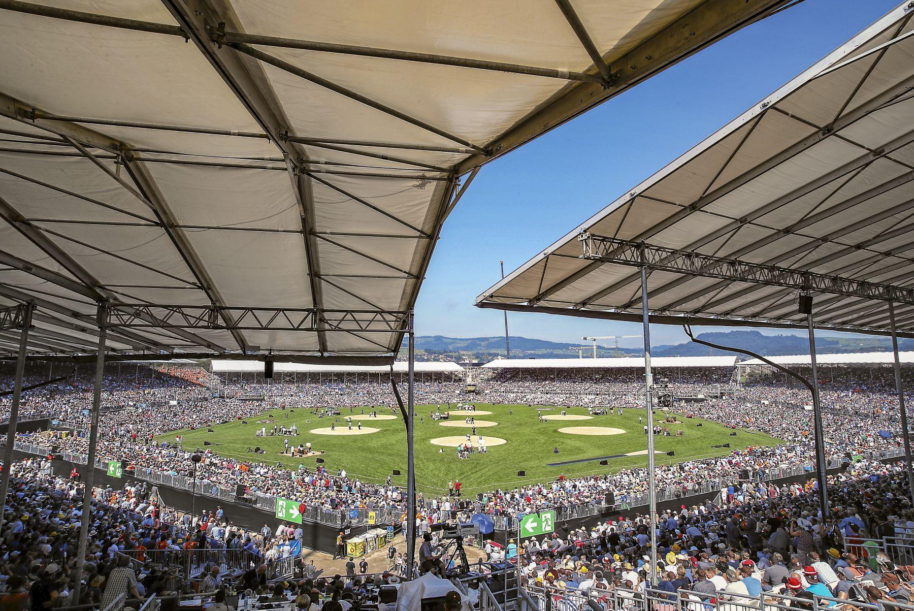 Die Ticketpreise für den Arenaeintritt stehen fest, Eidgenössisches Schwing- und Älplerfest Pratteln im Baselbiet | ESAF 2022