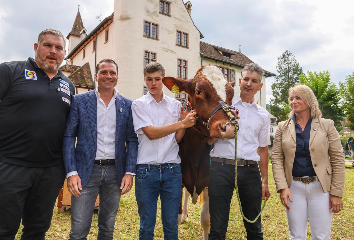 Magnus, der Siegermuni, Eidgenössisches Schwing- und Älplerfest Pratteln im Baselbiet | ESAF 2022