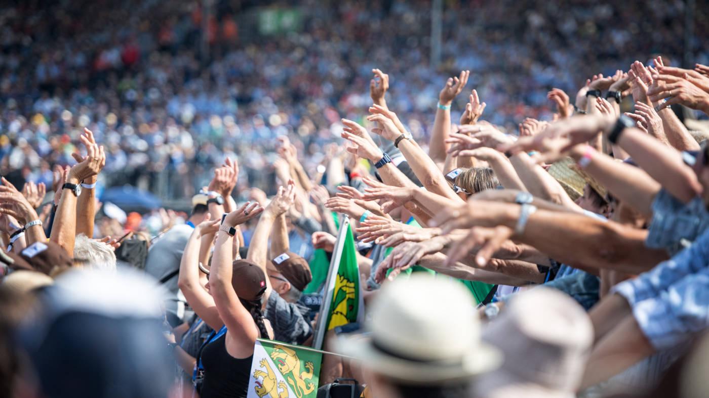 Beeindruckend, berührend!, Eidgenössisches Schwing- und Älplerfest Pratteln im Baselbiet | ESAF 2022