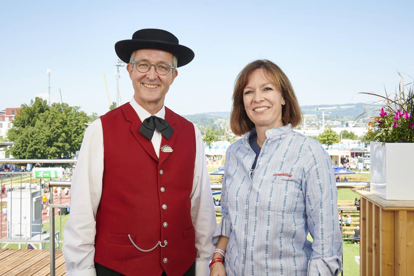 Die ersten beiden Königspartner stehen fest, Eidgenössisches Schwing- und Älplerfest Pratteln im Baselbiet | ESAF 2022