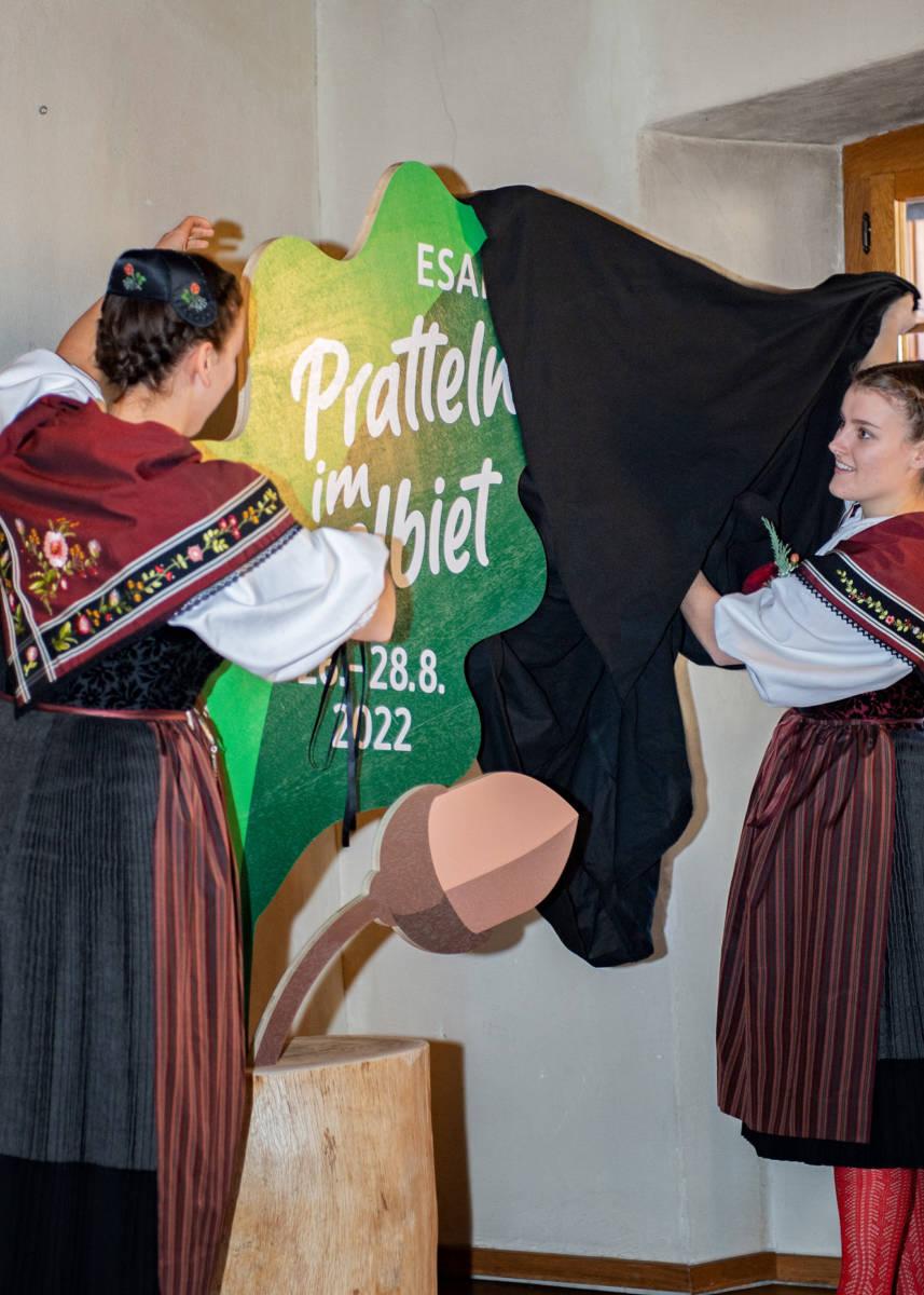 Offizielle Logopräsentation    | Eidgenössisches Schwing- und Älplerfest Pratteln im Baselbiet | ESAF 2022