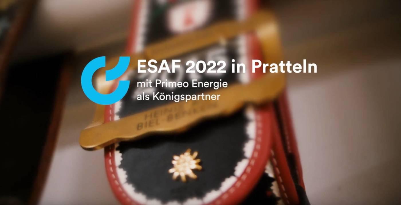 Primeo Energie wird Königspartner, Eidgenössisches Schwing- und Älplerfest Pratteln im Baselbiet | ESAF 2022
